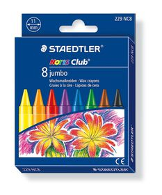 Staedtler Noris Club 8 Jumbo Wax Crayons