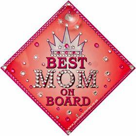 Jackflash - Best Mom On Board Sign