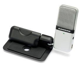 Samson Audio Go Mic Mini Portable USB Recording Microphone - Black