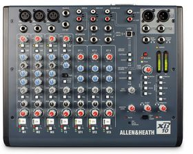 Allen & Heath XB10 Compact Broadcast Mixer - Black