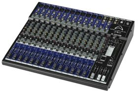 Wharfedale SL1224USB 12-Mic Mixer with FX - Black