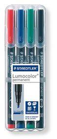 Staedtler Lumocolor 4 Permanent Broad Markers
