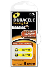Duracell EasyTab Hearing Aid Battery Size 10