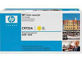 HP # C9732AC Yellow Contract LaserJet Toner Cartridge - New