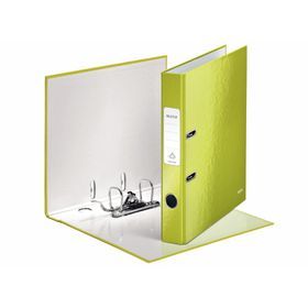 Leitz WOW A4 Lever Arch File 50mm 180 Degree - Green