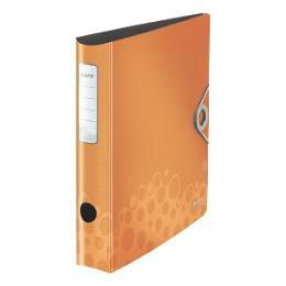 Leitz Bebop A4 Lever Arch Active File 65mm 180 Degree - Orange
