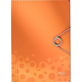 Leitz Bebop 3 Flap Folder A4 - Orange