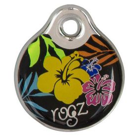 Rogz ID Tagz Self-Customisable Instant Resin Tag - Floral