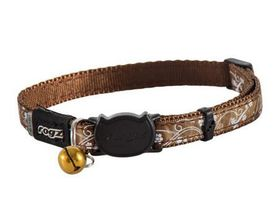 Rogz - Catz SilkyCat Safeloc Breakaway Cat Collar - Bronze