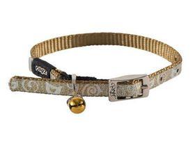 Rogz - Catz SparkleCat 0.8cm Extra-Small Pin Buckle Cat Collar - Bronze