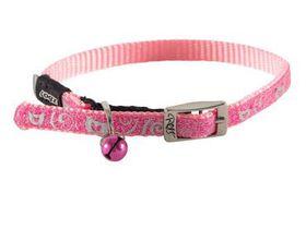 Rogz Catz SparkleCat Extra Small Pin Buckle Cat Collar - Pink