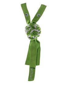 Rogz - Cowboyz Small Dog Knot Chew Toy - Lime