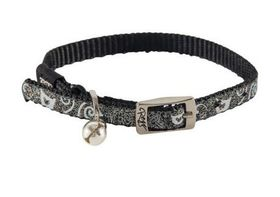 Rogz - Catz SparkleCat Small Pin Buckle Cat Collar - Black