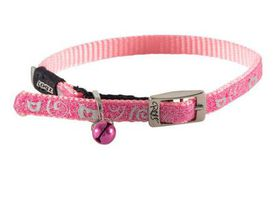 Rogz - Catz SparkleCat Small Pin Buckle Cat Collar - Pink