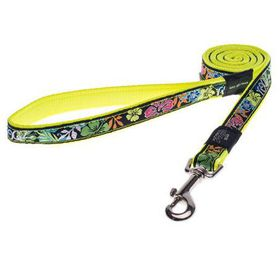Rogz - Fancy Dress Large Beach Bum Fixed Dog Lead - Floral