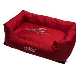 Rogz Small Spice Pod Cushion Bed - Red