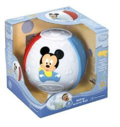 Disney Clementoni Mickey Soft Electronic Ball