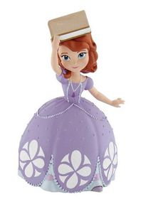 Bullyland Sofia The First Sofia with Book - 6.8cm