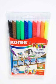 Kores Korellos 10 Felt Tip Pens