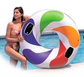 Intex - Tube - Color Whirl - 122cm