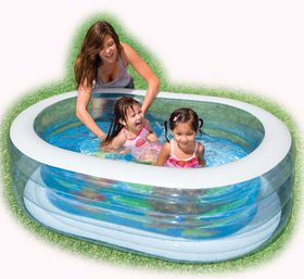 Intex - Pool - Oval Whale