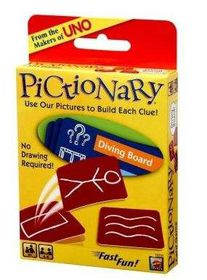 Pictionary Card Game - CDU - UK