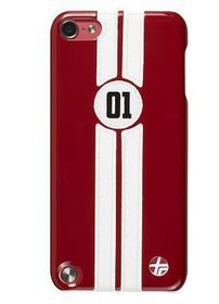 Trexta Retro Racer for IPhone 5 - Red & White