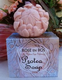 Rose en Bos Pink Protea Soap with Gift Box - 100g