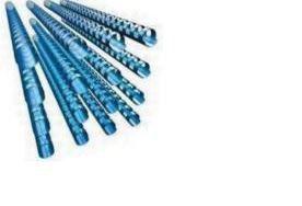 GBC 25mm 21 Loop PVC Binding Combs - Blue (Pack of 50)