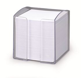 Durable Paper Note Box - Transparent