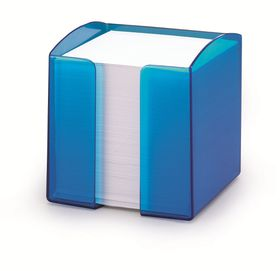 Durable Paper Note Box - Translucent Blue