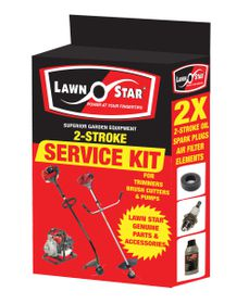 Lawn Star - Replacement 2 Stroke Spark Plug Twinpack