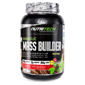 Nutritech Anabolic Mass Builder - Strawberry 1.5kg