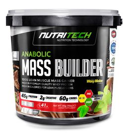 Nutritech Anabolic Mass Builder - Chocolate 5kg