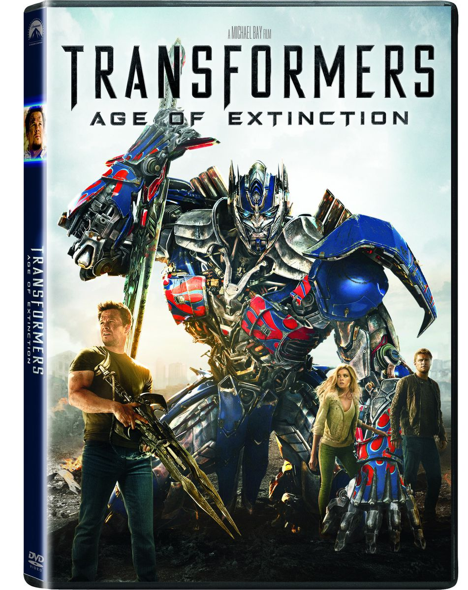 Pics For > Transformers Age Of Extinction Dvd Cover