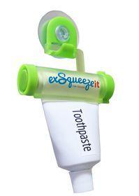 Exsqueezeit Toothpaste Squeezer - Green
