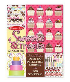 Melissa & Doug Sweets and Treats Sticker Pad