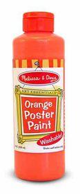 Melissa & Doug Poster Paint - Orange