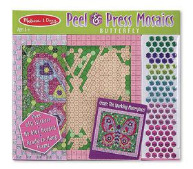 Melissa & Doug Press & Peel - Butterfly