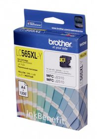 Brother LC565XLY Ink Cartridge - Yellow