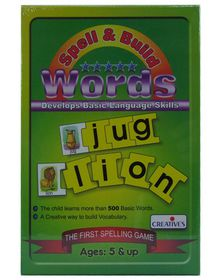 Creatives Toys Spell & Build Words