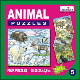 Creatives Toys Animal Puzzle No.5