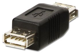Lindy 71230 A Female to A Female Coupler USB Adapter