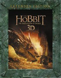 The Hobbit: The Desolation of Smaug - Extended Edition (Import 3D Blu-ray)