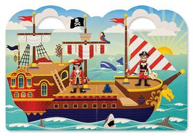 Melissa & Doug Puffy Sticker Play Set - Pirate