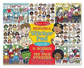 Melissa & Doug Reusable Sticker Pad - Face It