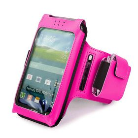 Tuff-Luv Sports Armband for Smartphones - Pink
