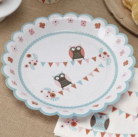 Ginger Ray Paper Plates - 8 pack