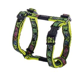 Rogz Fancy Dress Small Jellybean Dog H-Harness - 11mm
