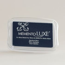 Tsukineko Memento LUXE Ink Pad - Nautical Blue